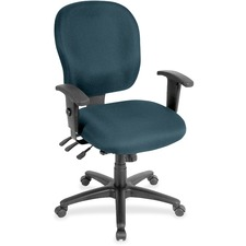 LLR3310059 - Lorell Multifunction Task, Black Frame Chair