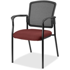 LLR2310047 - Lorell Guest, Meshback/Black Frame Chair