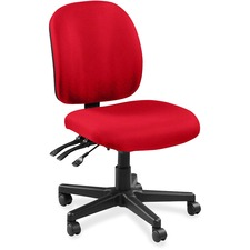 LLR5310091 - Lorell Mid-back Task Chair without Arms