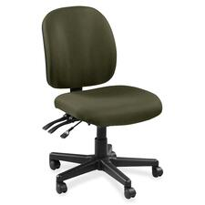 LLR5310027 - Lorell Mid-back Task Chair without Arms