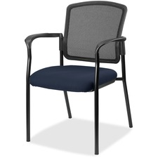 LLR2310043 - Lorell Guest, Meshback/Black Frame Chair