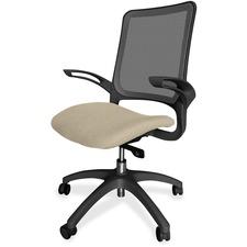 LLR2355087 - Lorell Executive, Mesh Back/Black Frame Chair