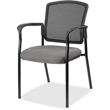 LLR2310060 - Lorell Guest, Meshback/Black Frame Chair