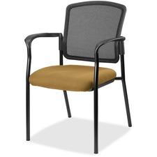LLR2310029 - Lorell Guest, Meshback/Black Frame Chair