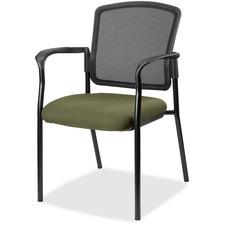 LLR2310034 - Lorell Guest, Meshback/Black Frame Chair