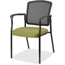LLR2310090 - Lorell Guest, Meshback/Black Frame Chair