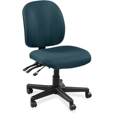 LLR5310059 - Lorell Mid-back Task Chair without Arms