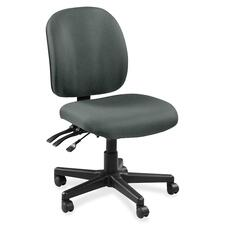 LLR5310032 - Lorell Mid-back Task Chair without Arms