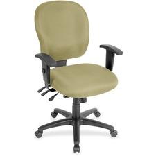 LLR3310058 - Lorell Multifunction Task, Black Frame Chair