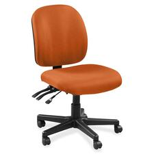 LLR5310056 - Lorell Mid-back Task Chair without Arms