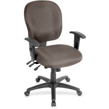 LLR3310065 - Lorell Multifunction Task, Black Frame Chair
