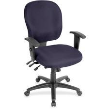 LLR3310061 - Lorell Multifunction Task, Black Frame Chair