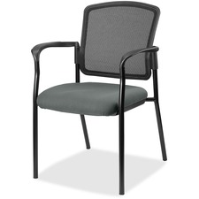LLR2310032 - Lorell Guest, Meshback/Black Frame Chair