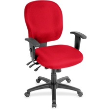 LLR3310091 - Lorell Multifunction Task, Black Frame Chair