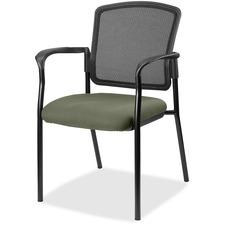 LLR2310085 - Lorell Guest, Meshback/Black Frame Chair