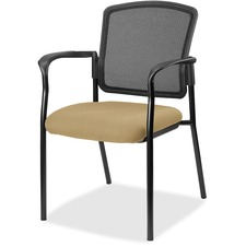 LLR2310040 - Lorell Guest, Meshback/Black Frame Chair