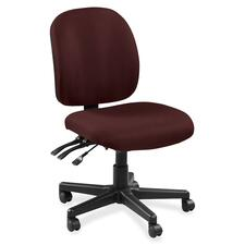 LLR5310064 - Lorell Mid-back Task Chair without Arms