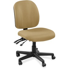LLR5310040 - Lorell Mid-back Task Chair without Arms