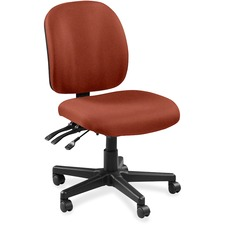 LLR5310039 - Lorell Mid-back Task Chair without Arms