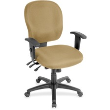 LLR3310040 - Lorell Multifunction Task, Black Frame Chair