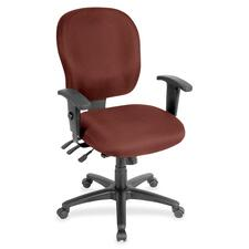 LLR3310026 - Lorell Multifunction Task, Black Frame Chair