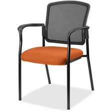 LLR2310094 - Lorell Guest, Meshback/Black Frame Chair