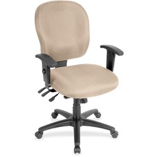 LLR3310089 - Lorell Multifunction Task, Black Frame Chair