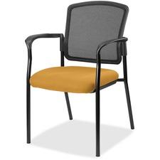 LLR2310053 - Lorell Guest, Meshback/Black Frame Chair