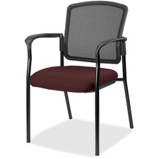 LLR2310064 - Lorell Guest, Meshback/Black Frame Chair