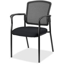 LLR2310049 - Lorell Guest, Meshback/Black Frame Chair