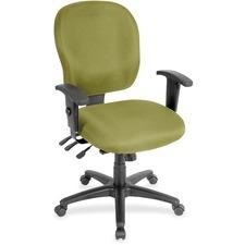 LLR3310090 - Lorell Multifunction Task, Black Frame Chair