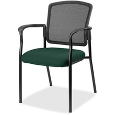 LLR2310050 - Lorell Guest, Meshback/Black Frame Chair