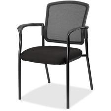 LLR2310063 - Lorell Guest, Meshback/Black Frame Chair