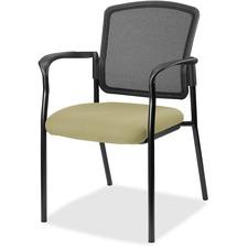 LLR2310058 - Lorell Guest, Meshback/Black Frame Chair
