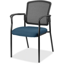 LLR2310038 - Lorell Guest, Meshback/Black Frame Chair