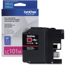 Brother Ink Cartridge Magenta - Inkjet - Standard Yield - 300 Pages - 1 Each
