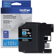 Brother Ink Cartridge Cyan - Inkjet - Standard Yield - 300 Pages - 1 Each