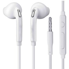 4XEM Earbud Earphones For Samsung Galaxy/Tab (White)