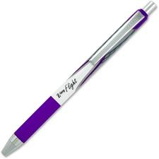 Zebra Pen Z-Grip Flight Retractable Pens - Bold Pen Point - 1.2 mm Pen Point Size - Violet