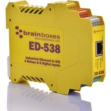 Brainboxes ED-538 Ethernet To Digital IO RelayIO Relay