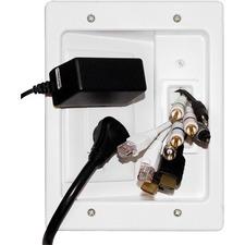 Legrand-On-Q In-Wall Flat Panel TV Power Kit