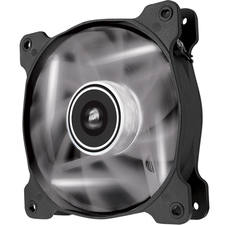 Corsair Air Series AF120 LED White Quiet Edition High Airflow 120mm Fan - Twin Pack