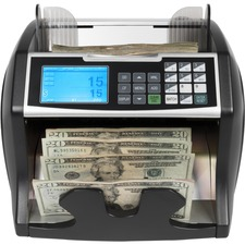 RBC4500 bill counter makes bill counting efficient with value counting feature