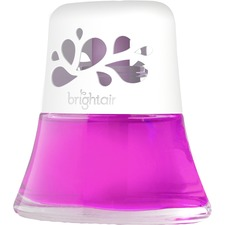 Bright Air Fresh Peach Scented Oil Air Freshener - Liquid - 73.93 mL - Fresh Petals & Peach - 45 Day