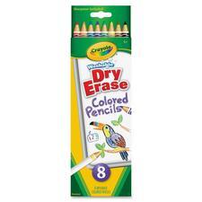 CYO 988663 Crayola Washable Dry-erase Colored Pencils CYO988663