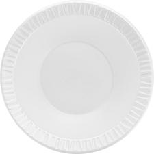 DCC 12BWWCR Dart Unlaminated Dinnerware Foam Bowls  DCC12BWWCR