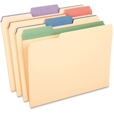 PFX 84101 Pendaflex Color Tab Manila File Folders PFX84101