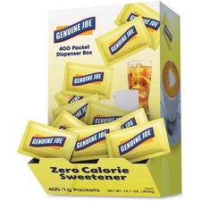 Genuine Joe Sucralose Zero Cal. Sweetener Packets