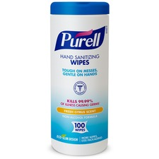 GOJ 911112EA GOJO Purell Textured Sanitizing Wipes GOJ911112EA
