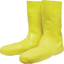 SVS A352L Servus Disposable Yellow Latex Booties  SVSA352L